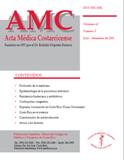 Ver Vol. 43 Núm. 4 (2001): Acta Médica Octubre-Diciembre 2001